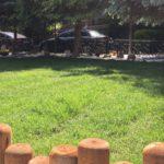 villa bahçe düzenleme ,sert zemin döşeme